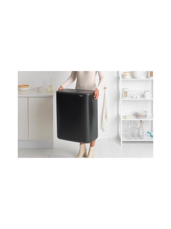 Brabantia - Bo Touch Bin -roska-astia 60 l - MATT BLACK | Stockmann - photo 5