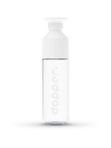 Dopper - Glass Insulated -juomapullo 400 ml - WHITE   Stockmann