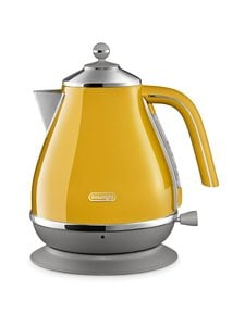 Delonghi - Icona Capitals New York Yellow -vedenkeitin - NEW YORK YELLOW | Stockmann