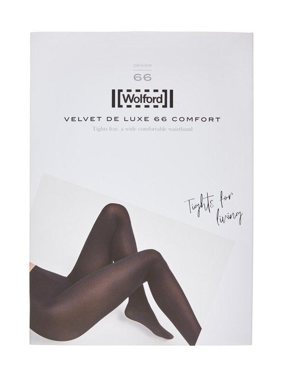 Wolford - Velvet de Luxe 66 den -sukkahousut - 7005 BLACK | Stockmann - photo 1