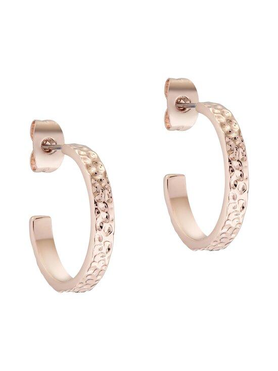 Ted Baker London - Heanna Hammered Hoop Earring -korvakorut - ROSE GOLD | Stockmann - photo 1