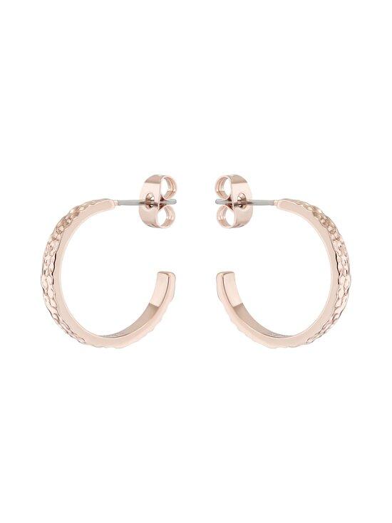 Ted Baker London - Heanna Hammered Hoop Earring -korvakorut - ROSE GOLD | Stockmann - photo 2