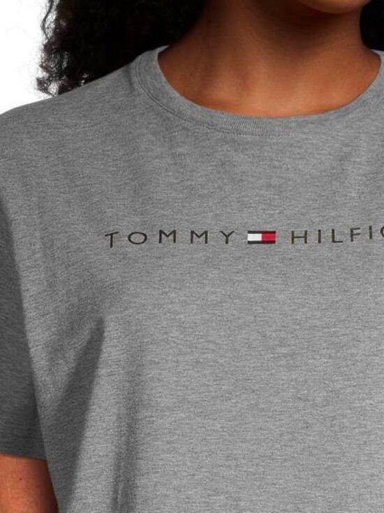 Tommy Hilfiger - Rn Dress Half Sleeve Gold -yöpaita - PGU DARK GREY HEATHER | Stockmann - photo 3