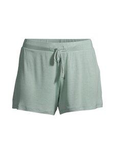 NOOM loungewear - Lena-pyjamashortsit - SOF GREEN SOLID | Stockmann