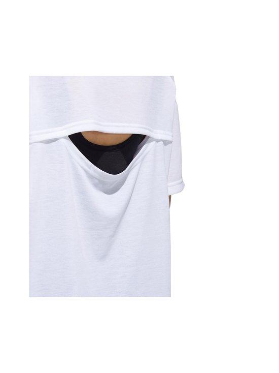 adidas Performance - Unleash Confidence Tee -paita - WHITE/BLACK | Stockmann - photo 5
