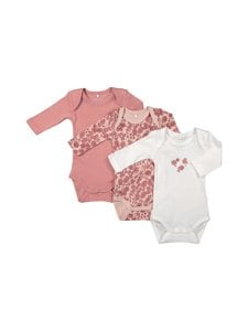 Name It - NbfBody 3-pack - DUSTY ROSE   Stockmann