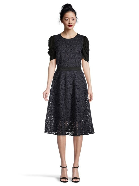 Karl Lagerfeld - Karl Lace Dress -mekko - 315 315 NAVY/BLACK   Stockmann - photo 2