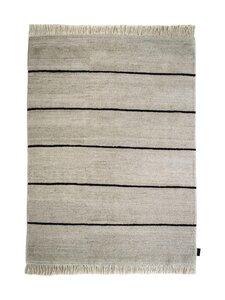Sera Helsinki - Polku-villamatto 200 x 300 cm - BLACK/NATURAL WHITE (MUSTA/LUONNONVALKOINEN) | Stockmann