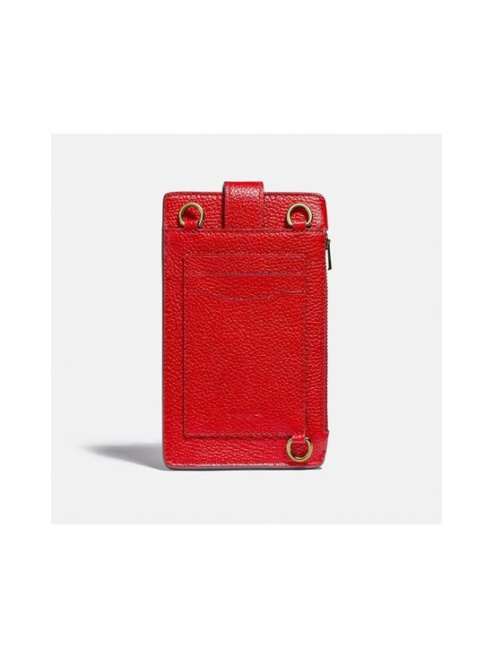 Coach - Turnlock Chain Phone Crossbody -nahkalaukku - GD/ELECTRIC RED | Stockmann - photo 2