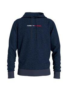 Tommy Jeans - TJM Straight Logo Hoodie -huppari - DMN TWILIGHT NAVY HTR   Stockmann