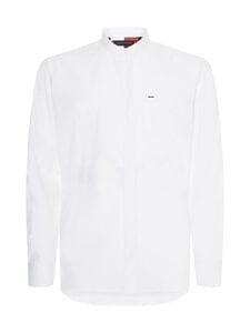 Tommy Hilfiger Tailored - Elevated Fine Solid -paita - YBR WHITE   Stockmann