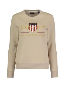 GANT - Archive Shield C-Neck Sweat -collegepaita - 277 DRY SAND | Stockmann