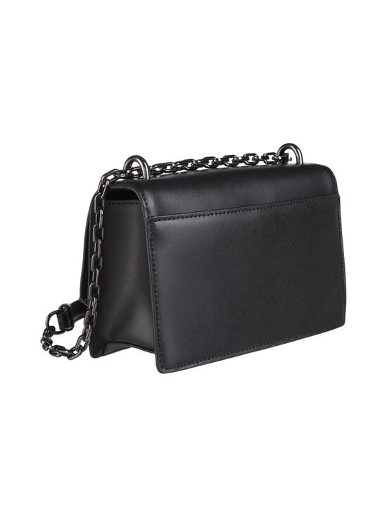 Karl Lagerfeld - K/Signature Small Shoulderbag -nahkalaukku - A991 BLACK/GUN METAL | Stockmann - photo 2