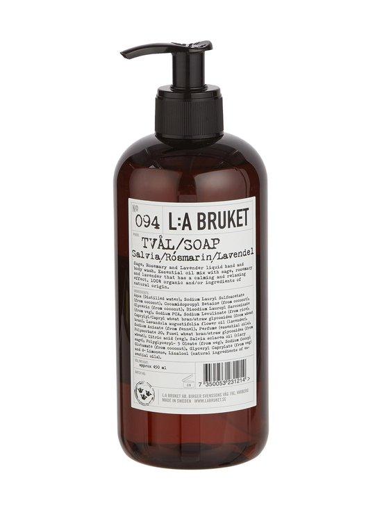 L:A Bruket - No 94 Sage/Rosemary/Lavender -nestesaippua 450 ml   Stockmann - photo 1