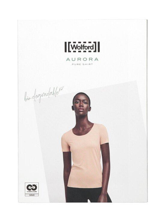 Wolford - Aurora Pure SS -paita - 7005 BLACK | Stockmann - photo 1