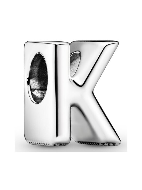 Pandora - Letter K Silver Charm -koru - SILVER   Stockmann - photo 1