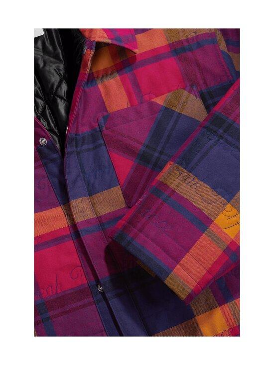 Peak Performance - Ben Gorham Flannel Overshirt Unisex -paita - 50M POWER PINK   Stockmann - photo 5