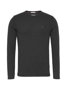 Tommy Jeans - Tjm Original Rib Longsleeve Tee -paita - 078 TOMMY BLACK | Stockmann