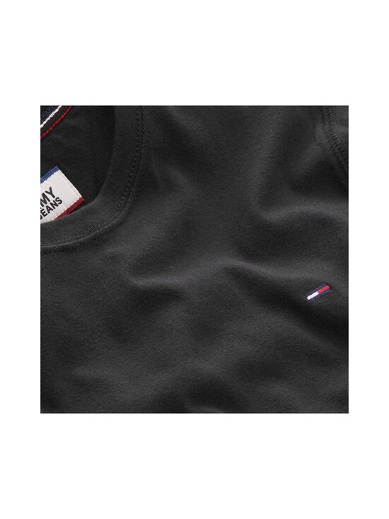 Tommy Jeans - Tjm Original Rib Longsleeve Tee -paita - 078 TOMMY BLACK | Stockmann - photo 3