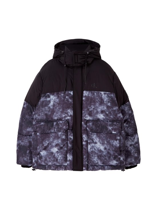 Calvin Klein Jeans - Cloud Print Puffer -toppatakki - BEH CK BLACK | Stockmann - photo 1