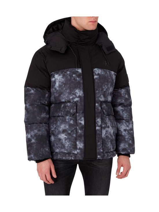Calvin Klein Jeans - Cloud Print Puffer -toppatakki - BEH CK BLACK | Stockmann - photo 3