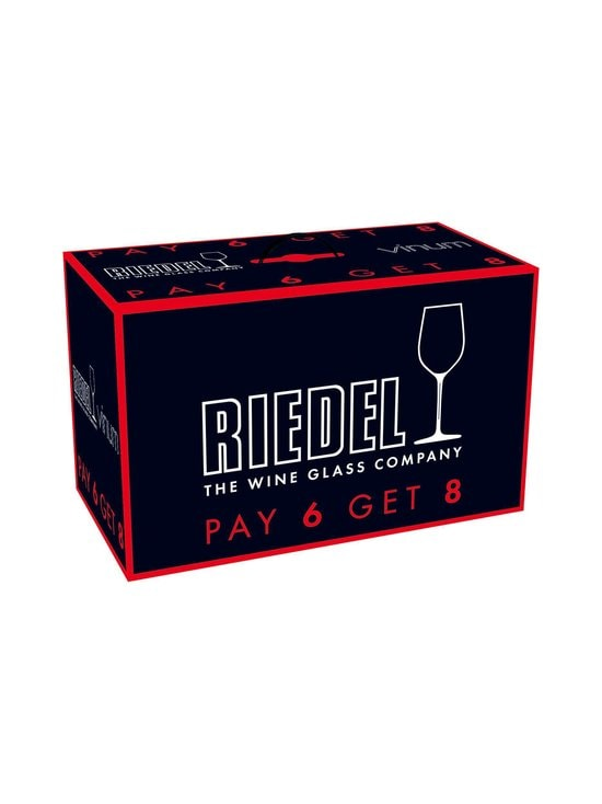 Riedel - Vinum Cabernet Sauvignon/Merlot (Bordeaux) -punaviinilasi 6 + 2 kpl - KIRKAS | Stockmann - photo 2