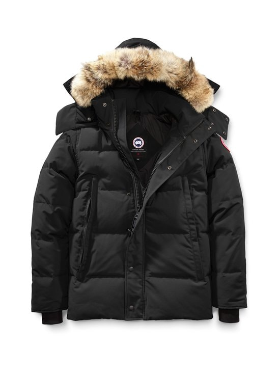 Canada Goose - Wyndham Parka -untuvatakki - 61 BLACK - NOIR | Stockmann - photo 1
