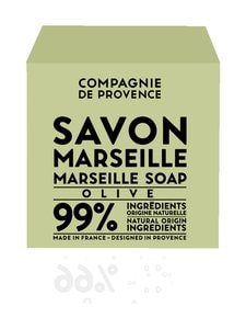 Compagnie de Provence - Marseille Soap Olive -palasaippua 400 g - VIHREÄ | Stockmann