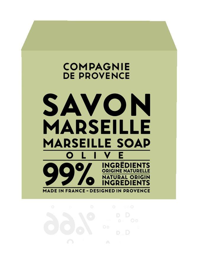 Marseille Soap Olive -palasaippua 400 g