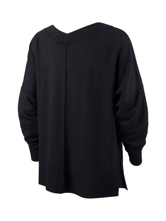 Nike - Yoga Fleece Cover-Up -paita - BLACK/DARK SMOKE GREY | Stockmann - photo 2