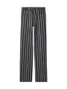 Kenzo - Striped Jean -farkut - 98 - PRINTED COTTON TWILL - ANTHRACITE | Stockmann