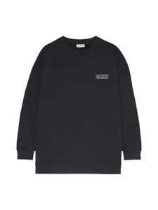 Ganni - Software Isoli Oversized Sweatshirt -collegepaita - BLACK 099 | Stockmann