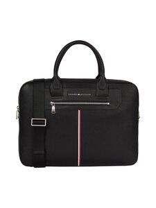 Tommy Hilfiger - TH Downtown Super Slim Computer Bag -laukku - BDS BLACK | Stockmann