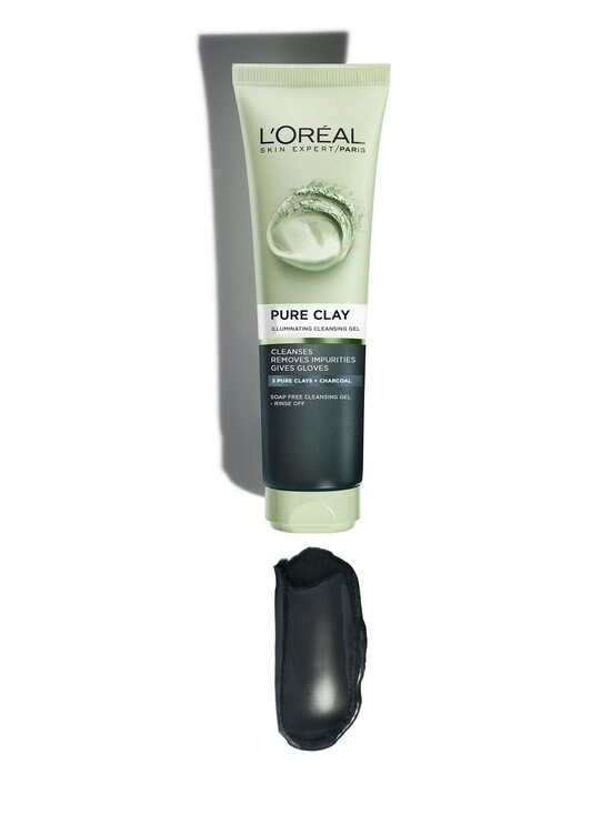 L'Oréal Paris - Pure Clay Illuminating Cleansing Gel -heleyttävä puhdistusgeeli 150 ml - 10 | Stockmann - photo 2