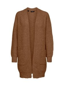 Selected - SlfLulu LS Knit Long Cardigan -neuletakki - 18-1033 TCX DACHSHUND | Stockmann