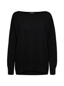 Selected - SlfNaya Cashmere LS Knit Boatneck -neule - C-N10 BLACK | Stockmann