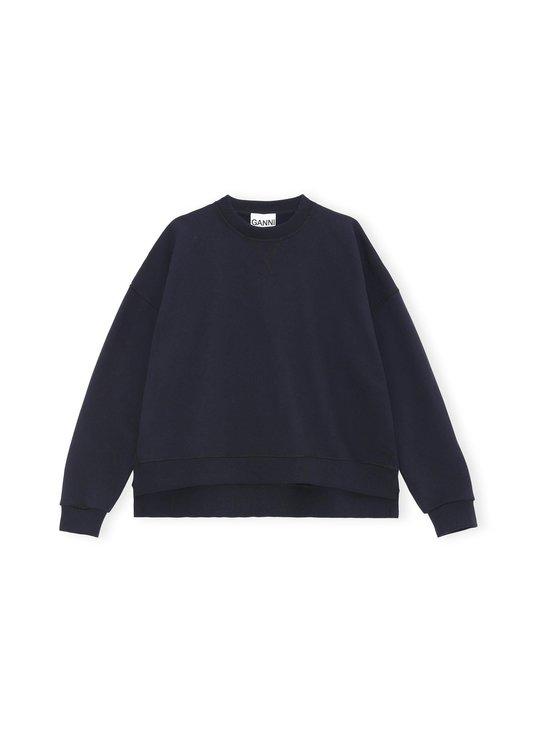 Ganni - Isoli Oversized Sweater -collegepaita - SKY CAPTAIN 683 | Stockmann - photo 1