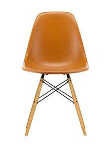 Vitra - Eames DSR Fiberglass -tuoli - 02 MAPLE/DARK OCHRE 08 | Stockmann
