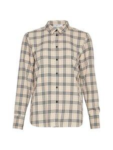 Moss Copenhagen - Cimone Lalou LS Shirt -pusero - W PEPPER CHECK W PEPPER CHECK | Stockmann