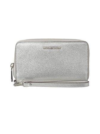 Jet Set Large Flat leather wallet