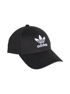 adidas Originals - Trefoil Baseball -lippalakki - BLACK   Stockmann