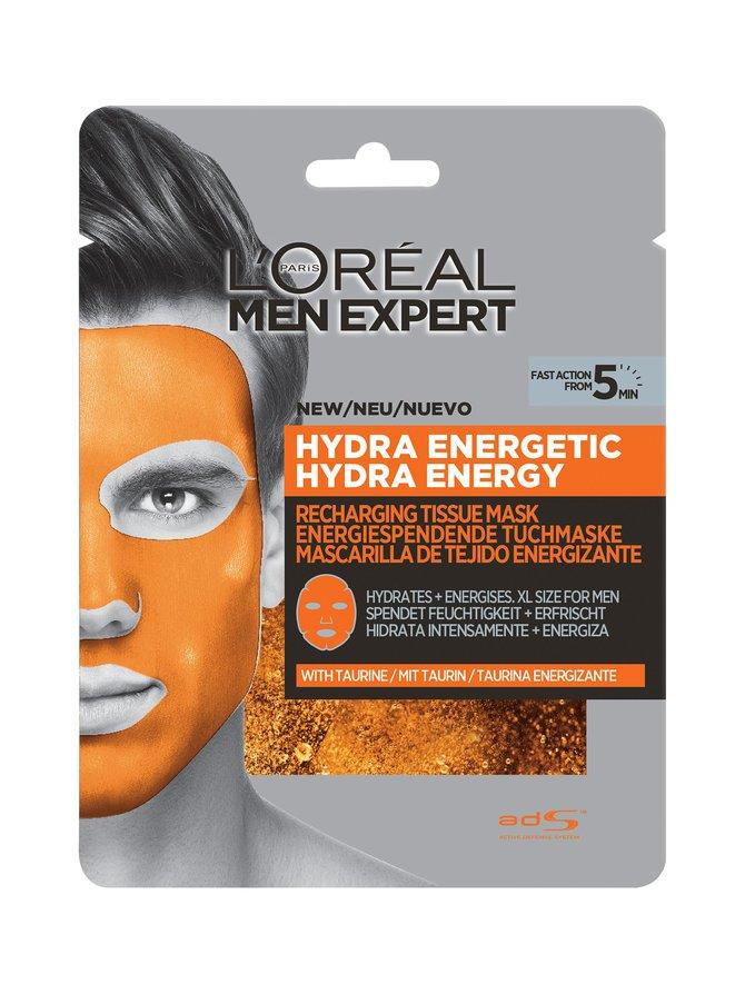 Men Expert Recharging Tissue Mask -kangasnaamio 30 g