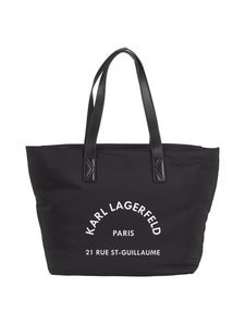 Karl Lagerfeld - Rue St Guillaume Nylon Tote -laukku - BLACK A999 | Stockmann