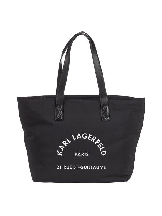 Karl Lagerfeld - Rue St Guillaume Nylon Tote -laukku - BLACK A999 | Stockmann - photo 1