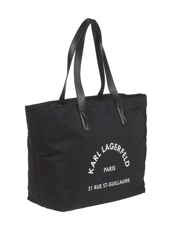 Karl Lagerfeld - Rue St Guillaume Nylon Tote -laukku - BLACK A999 | Stockmann - photo 2