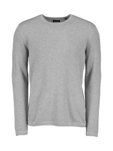 Only & Sons - OnsPanter-puuvillaneule - MEDIUM GREY MELANGE | Stockmann