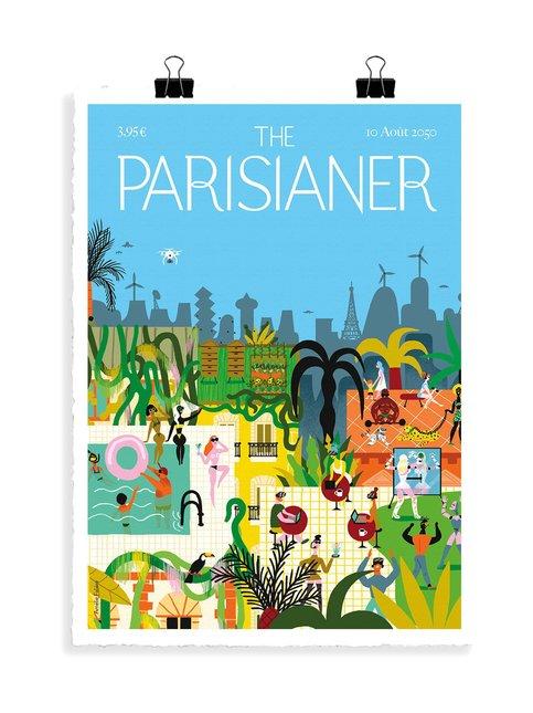 The Parisianer Utopie 01 Faliere -juliste 56 x 76 cm