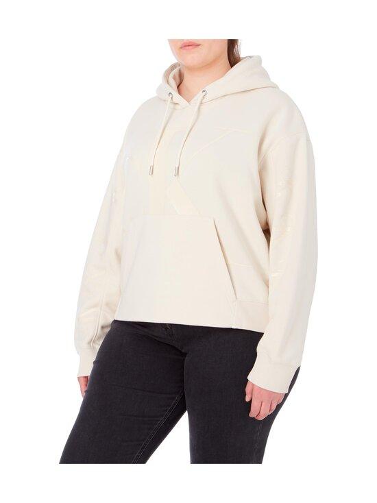 Calvin Klein Jeans Plus - Plus CK Eco Hoodie -huppari - AEO SOFT CREAM | Stockmann - photo 3