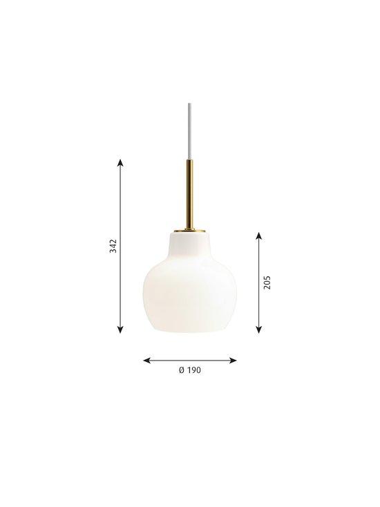 Louis Poulsen - VL Ring Crown -riippuvalaisin Ø 19 cm - WHITE/BRASS | Stockmann - photo 2