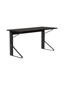 Artek - REB005 Kaari -työpöytä, linoleum - BLACK LINOLEUM/BLACK OAK (MUSTA) | Stockmann